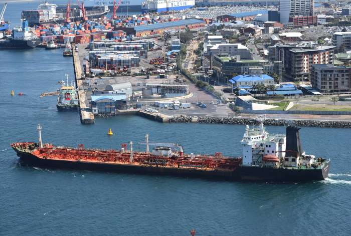 Theresa Dumai. Pictures: Trevor Jones, appearing in Africa PORTS & SHIPS maritime news