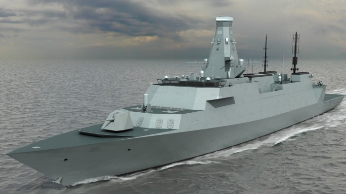 Type 26 frigate, appearing in Africa PORTS & SHIPS maritime news