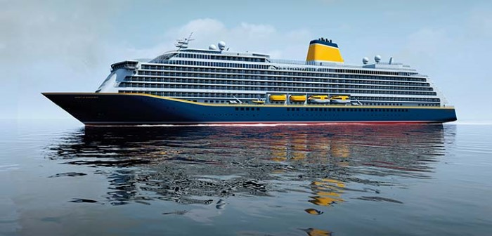Artist's impression of Spirit of Discovery, appearing in Africa PORTS & SHIPS maritime news
