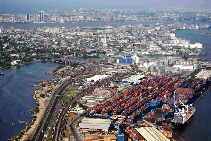 Tin Can Island, Lagos, Nigeria, appearing in Africa PORTS & SHIPS maritime news