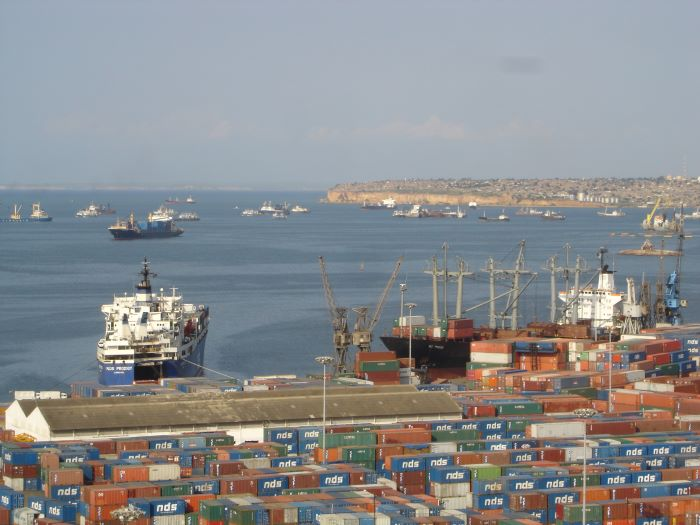 Luanda, Angola's capital city and main port, appearing in Africa PORTS & SHIPS maritime news