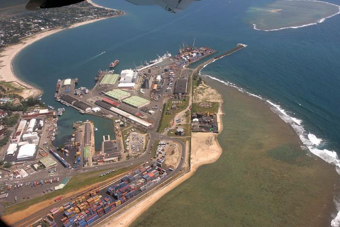 Port of Toamasina, where a labour dispute remains unresolved