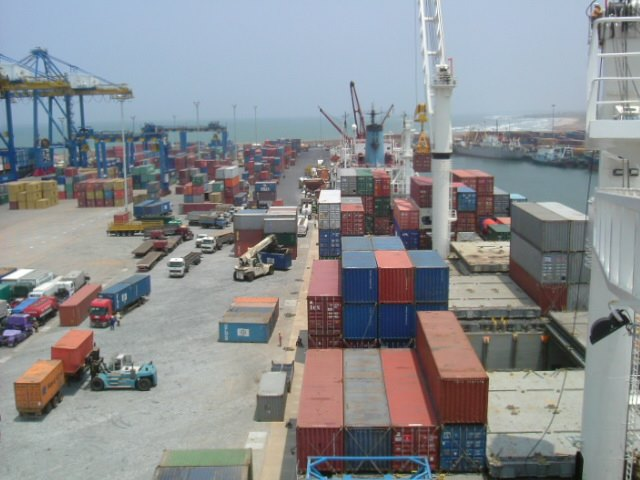 Tema Container Terminal. Picture: OTAL, appearing in Africa PORTS & SHIPS maritime news