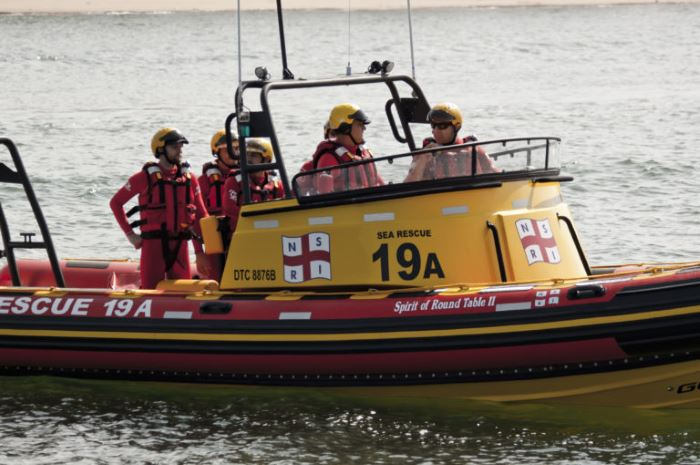 Spirit of Round Table II, Richards Bay. Picture: NSRI, appearing in Africa PORTS & SHIPS maritime news