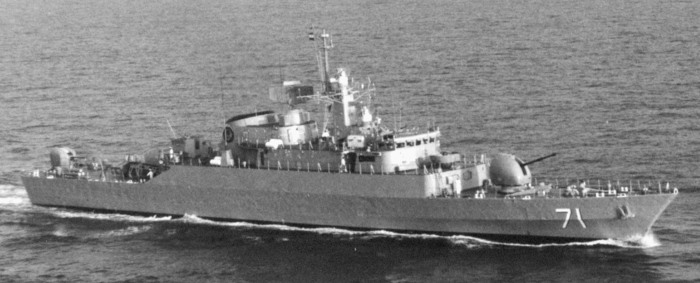 Iranian Navy frigate ALVAND, appearing in Africa PORTS & SHIPS maritime news