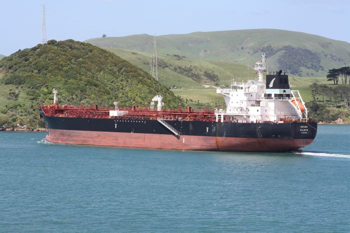 Matuku in Dunedin harbour, New Zealand. Picture by Alana Calvert, appearing in Africa PORTS & SHIPS maritime news
