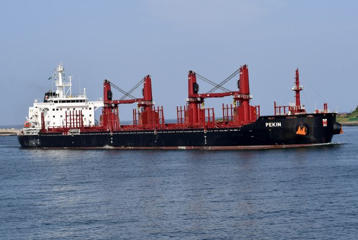 {ekin at Durban by Trevor Jones, appearing in Africa PORTS & SHIPS maritime news
