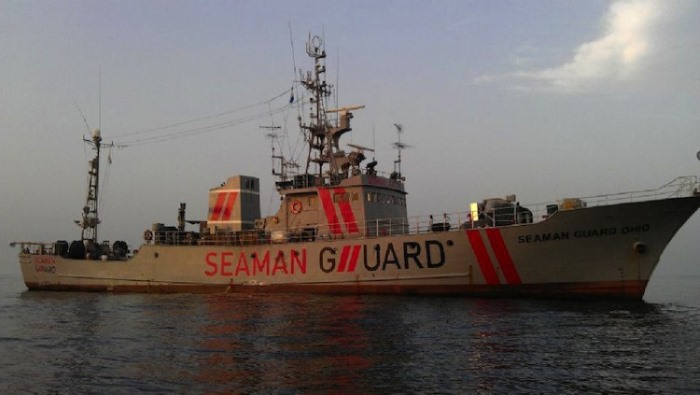 Guard ship Seaman Guard Ohio, detained in India since October 2013, appearing in Africa PORTS & SHIPS maritime news