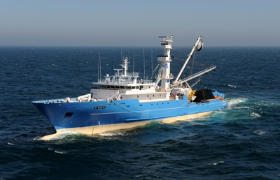 90 metre tuna purse seiner built by Piriou, appearing in Africa PORTS & SHIPS maritime news