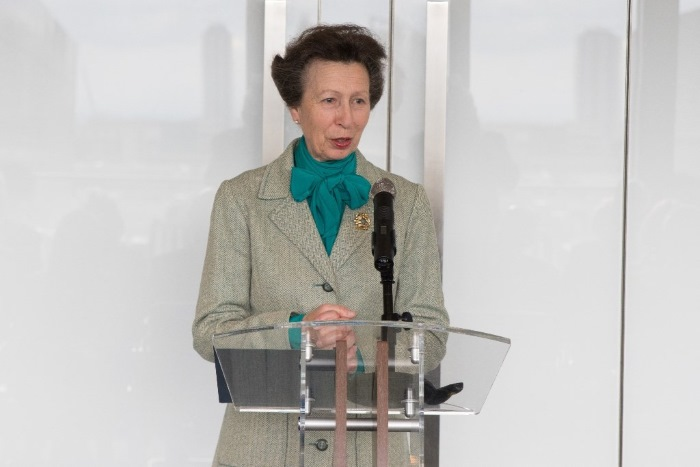 HRH The Princess Royal, appearing in Africa PORTS & SHIPS maritime news