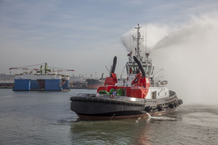 The tug UMBILO was handed over on 22 August. Picture: TNPA, appearing in Africa PORTS & SHIPS maritime news