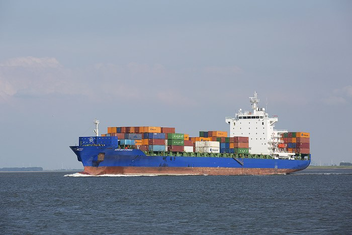 Abidjan Express. Picture: Hiveminer.com, appearing with Africa PORTS & SHIPS maritime news