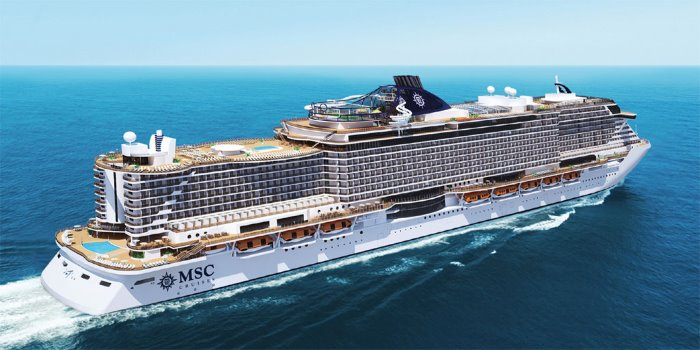 MSC Seaside entered service this week, story appearing in Africa PORTS & SHIPS maritime news