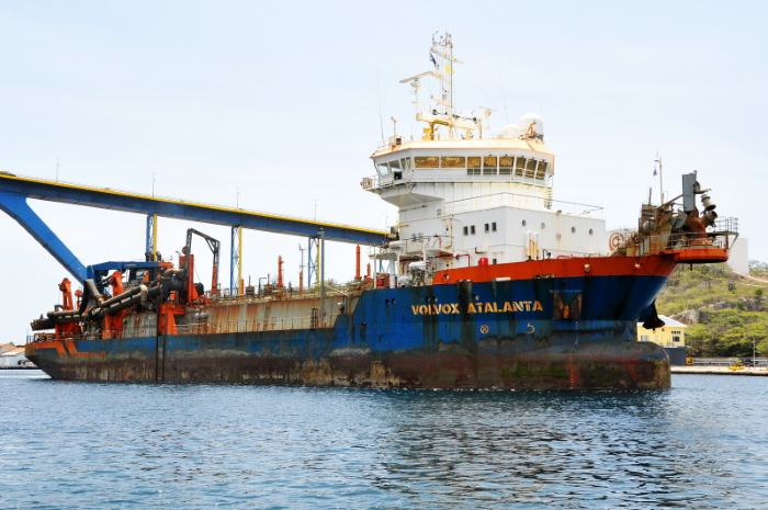 Volvox Atalanta which is to dredge port of Beira. Picture courtesy: Shipspotting, appearing in Africa PORTS & SHIPS maritime news
