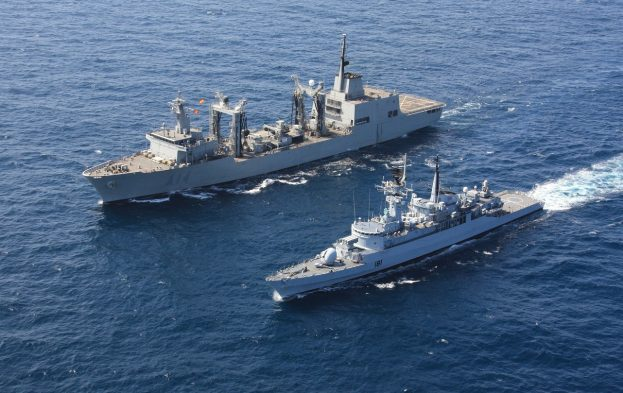 EU Navfor ships on counter-piracy patrol, featuring in Africa PORTS & SHIPS maritime news