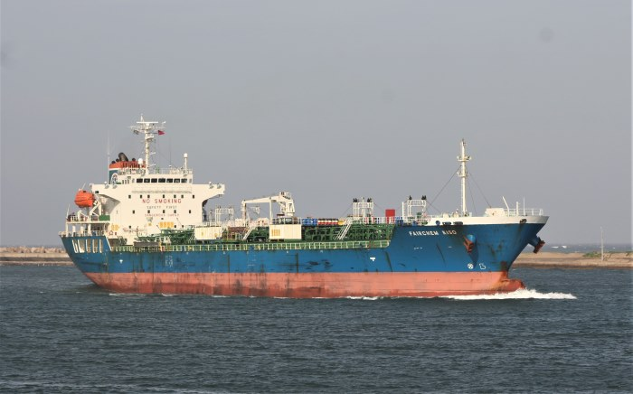 Fairchem Kiso arriving at Durban Picture: Keith Betts, featured in Africa PORTS & SHIPS maritime news