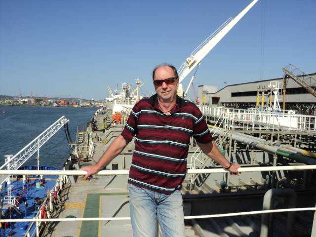 Frank Veenstra of Pro Liquid, the specialist liquid offloading services and equipment provider