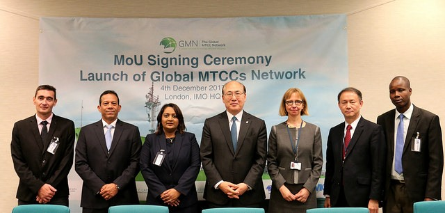 IMO signing ceremony, appearing in frica PORTS & SHIPS maritime news
