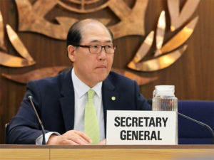IMO Secretary-General Kitack Lim, featuring in Africa PORTS & SHIPS maritime news