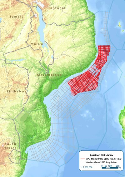 area to be seismically mapped, featured in Africa PORTS & SHIPS maritime news