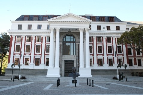 South Africa's House of Assembly (Parliament), Cape Town, featured in Africa PORTS & SHIPS maritime news