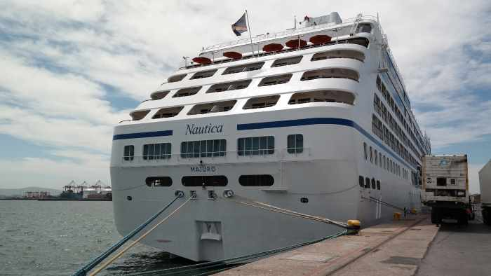 Oceania Cruises' Nautica which is currently cruising on the South Africa coast, featured in Africa PORTS & SHIPS maritime news