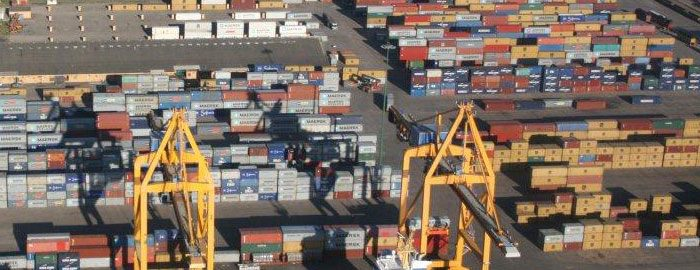 Beira container terminal, where a new access road has been opened, featured in Africa PORTS & SHIPS maritime news