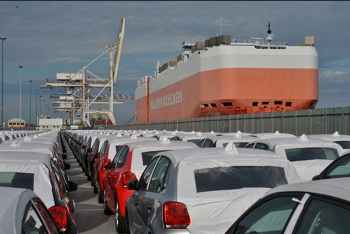 Port Elizabeth's Car Terminal, featured in Africa PORTS & SHIPS maritime news