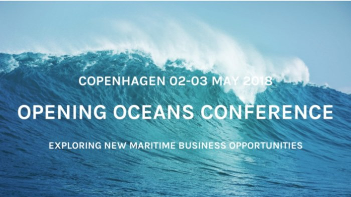 Nor-Shipping Opening Oceans Conference banner 2018, featured in Africa PORTS & SHIPS maritime news