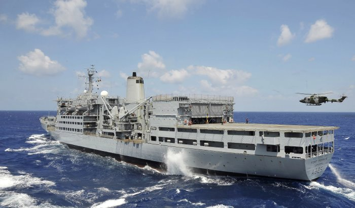 RFA Fort Rosalie, featured in Africa PORTS & SHIPS maritime news