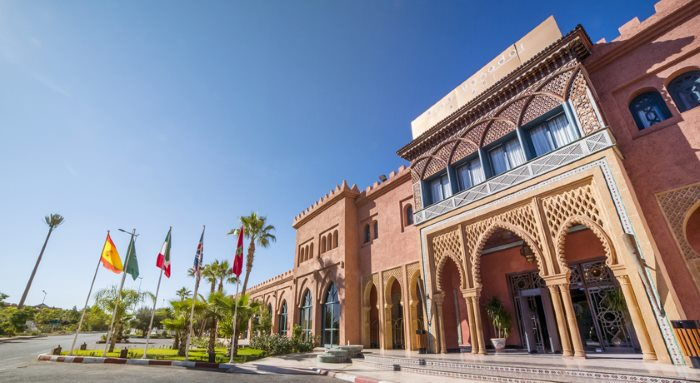 Venue of the seminar in Marrakesh, Morocco, featured in Africa PORTS & SHIPS maritime news