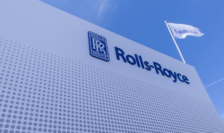 Rolls-Royce banner appearing in Africa PORTS & SHIPS maritime news