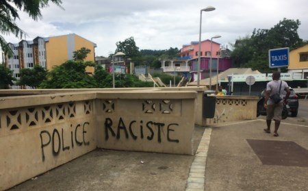 Many police on Mayotte are from metropole France. Picture Edward Carver/IRIN, appearing in Africa PORTS & SHIPS maritime news