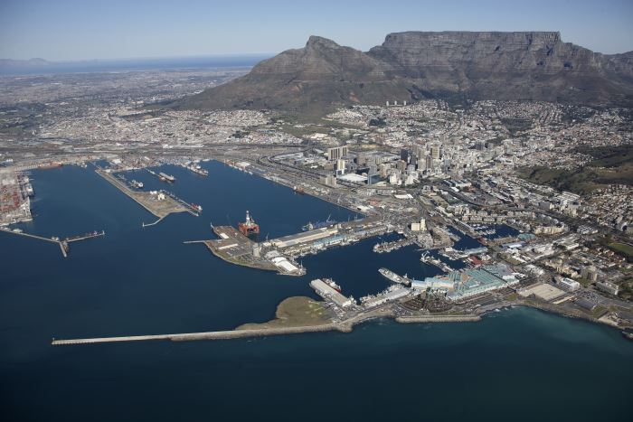 Port of Cape Town. Picture: courtesy TNPA, appearing in Africa PORTS & SHIPS maritime news