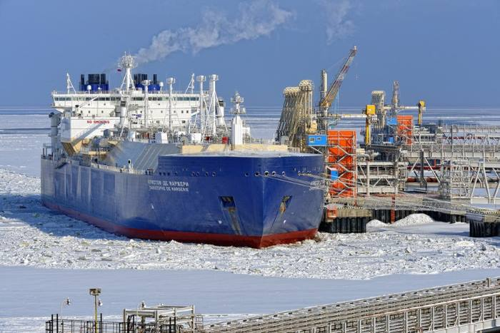 Christophe de Margerie at the dock in Yamal. Photo: Dimitriy Monakov, featured in Africa PORTS & SHIPS maritime news