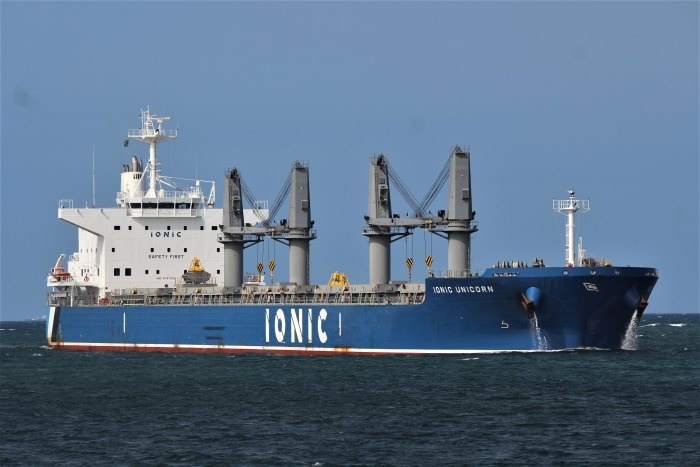 Ionic Unicorn at Durban. Picture: Keith Betts, featured in Africa PORTS & SHIPS maritime news