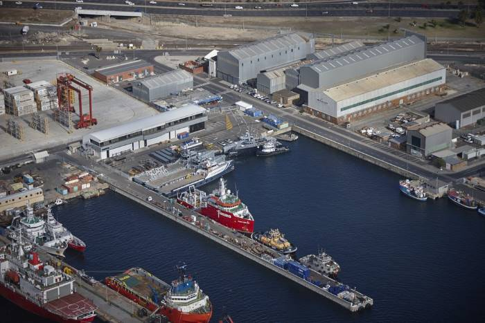 Damen Shipyards, Cape Town, appearing in Africa PORTS & SHIPS maritime news
