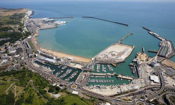 Port of Dover. Picture: courtesy Port of Dover, appearing in Africa PORTS & SHIPS maritime news