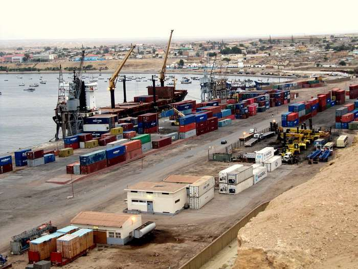Port of Namibe, formerly Moçâmedes, appearing in Africa PORTS & SHIPS maritime news