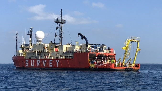 Research and survey vessel Ridley Thomas, featuring in Africa PORTS & SHIPS maritime news