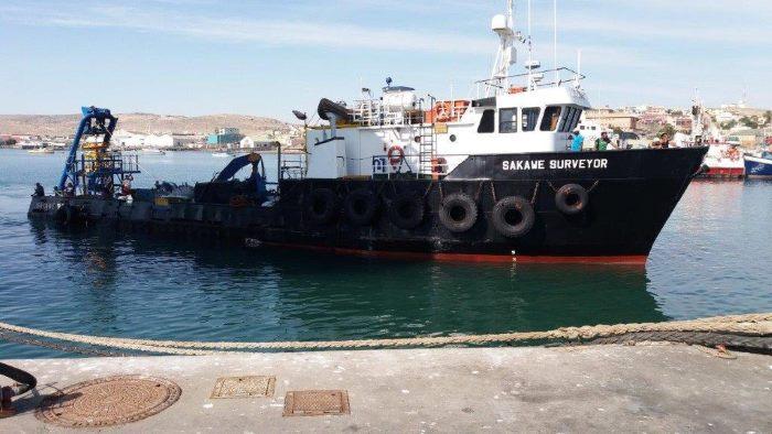 Sakawae Surveyor, under new ownership, appearing in Africa PORTS & SHIPS maritime news