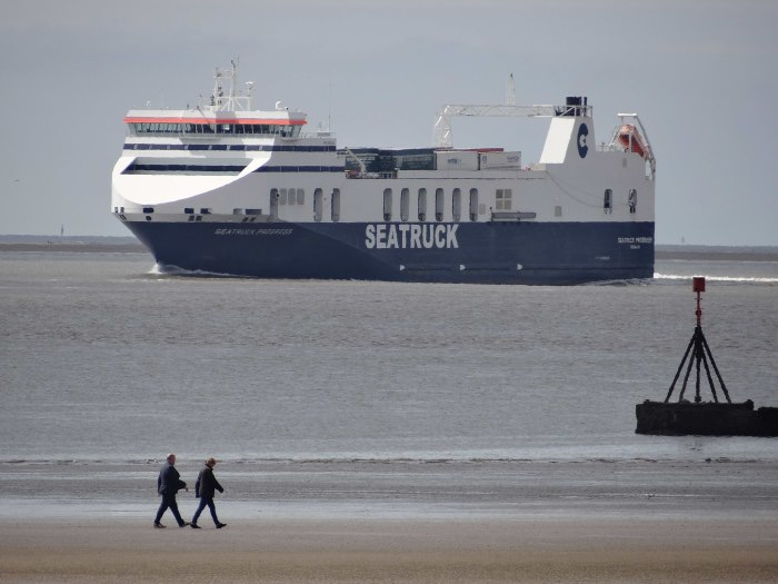 Seatruck vessel en route to complete BWT with Optimarin Ballast Systems, featured in Africa PORTS & SHIPS maritime news