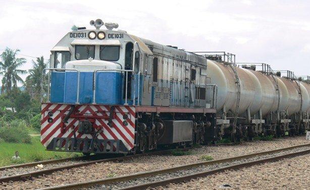 Tazara fuekl train, featured in Africa PORTS & SHIPS maritime news
