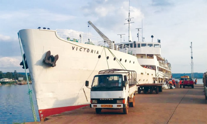 MV Victoria, one of the ships operating both cargo and passengers across Lake Victoria, featured in Africa PORTS & SHIPS maritime news