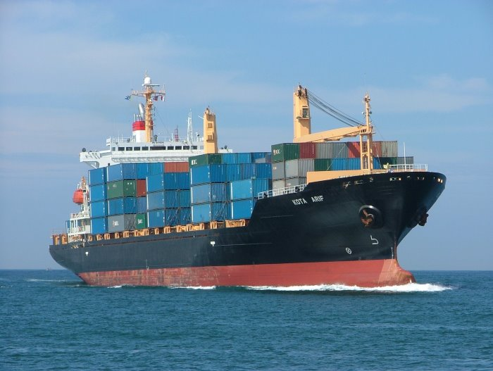 PIL container ship, Kota Arif. Picture: Terry Hutson, featured in Africa PORTS & SHIPS maritime news