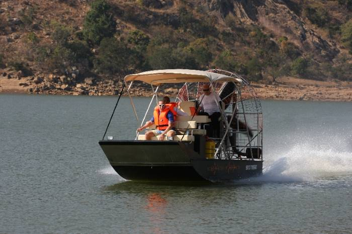out airboat, appearing in Africa PORTS & SHIPS maritime news