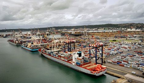 DCT Pier 2 North Quay, appearing in Africa PORTS & SHIPS maritime news
