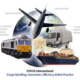 ICHCA Logo appearing in Africa PORTS & SHIPS maritime news