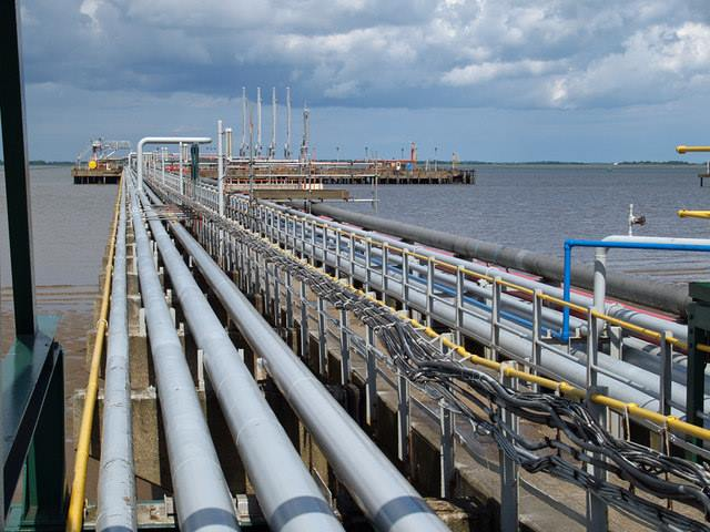 Kisumu oil jetty recently refurbished, Lake Victoria, appearing in Africa PORTS & SHIPS maritime news
