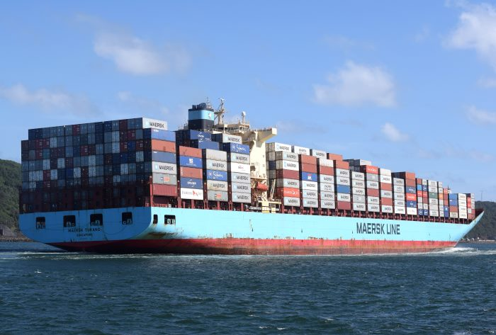Maersk Tukang at Durban, featured in Africa PORTS & SHIPS maritime news